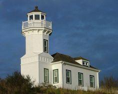 Dimmick #Lighthouse in Port Townsend, #Washington http://dennisharper.lnf.com/