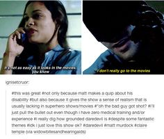 matt murdock/daredevil text post claire temple