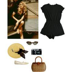 Brigitte Bardot by stradlatersgirl on Polyvore featuring moda, American Apparel…