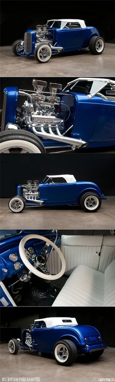1932 Ford Hot Rod Custom Roadster. Sooo Sweet...Brought to you by House of #Insurance in #Eugene #Oregon