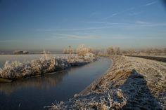 Winter plaatje nabij Kaag Warmond