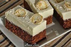 Prajitura de ciocolata cu crema de nuca de cocos | Retete culinare cu Laura Sava