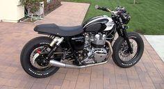 Triumph Bonneville T100 Modified by Nick Serrano