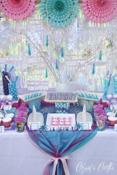 Frozen Birthday Party Ideas | Photo 1 of 23 | Catch My Party