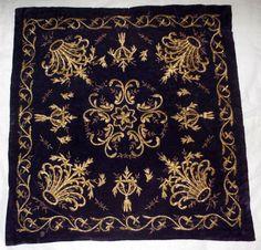 Ottoman Turkish Velvet Bindalli Bohca with Gold Metallic Threads | eBay