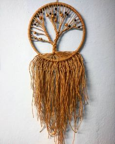 Dream catcher tree #dreamcatcher #tree #diy #homemade