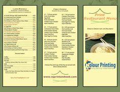 Fast & Quality #Print #Restaurant #Menu. Browse Now. http://www.njprintandweb.com/printing/print-restaurant-menu/