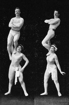 Circus - strong women