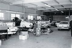 Shelby Mustang GT350 Vintage Production Photo