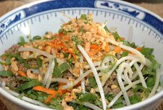 Vietnamese Beef Noodle Salad | Easy Natural Food