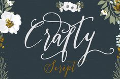 Check out Crafty Script by mycandythemes on Creative Market