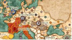 Image result for map of dacia in roman empire