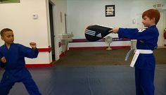 They #helpeachother #advance to the #nextlevel! #karate #martialarts #kids