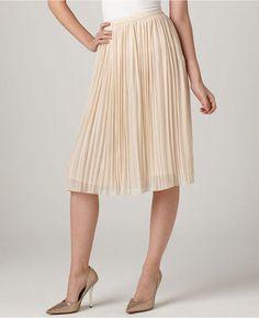 ShopStyle: Buffalo David Bitton Skirt, Haylee Pleated Chiffon Midi
