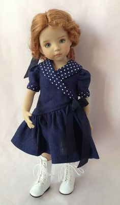 Samantha Red Wig/Navy Dress | by dolls031946