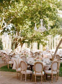 wedding reception idea; photo: Sylvie Gil.
