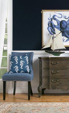 Nautical Style | Blue Nautical Decor
