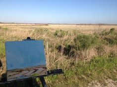 the accidental artist: Miles and Miles (and Miles) of Texas - My painting in the landscape
