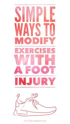 Sprained ankles, broken foot, achilles tendon injuries, and other foot injuries can derail a workout. Try these tips to keep strength training even when injured. #brokenfoot #sprainedankle #injury Fitness Tips For Women, You Fitness, Fitness Goals, Weight Lifting, Weight Loss, Ankle Mobility, Strength Training, Running Training, Training Tips