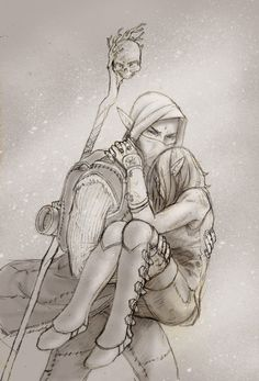 Damnit, Solas is- I have no words for my annoyance but I like the piece to much not to pin T.T