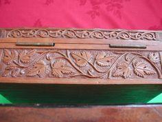 antique carved wooden box | eBay