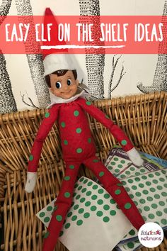 Sticker Elf on the Shelf. Try this easy Elf on the Shelf idea! We all know how dangerous kids can be with a pack of stickers - elves are just as bad, clearly!