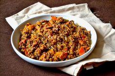 S vášní pro jídlo: Pohankové risotto s dýní a sušenými houbami