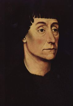 Portrait of Pierre de Beffremont by @artistweyden #northernrenaissance