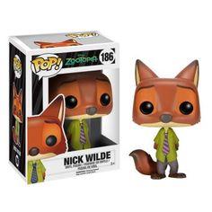 Nick wilde zorro pelicula disney zootopia 2016 Funko pop nick wilde zorro…