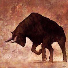 'Toro Luchando' de Riyahd Cassiem