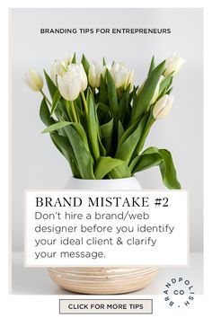 Tweaking and evolving is normal as you grow, it's this beginning phase that feels especially overwhelming, and it's overwhelming because you're not yet clear on your brand strategy. Learn how to avoid these 5 mistakes when launching or clarifying your brand. #brandingtips #brandstrategy #branding  #brandpolishco