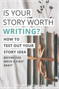 Creative Writing 317574211222451966 - You have an idea for a story—but how do you know if it's worth writing? I'm going to show you two ways to test out your story idea before you start writing! Creative Writing Tips, Book Writing Tips, Writing Process, Writing Resources, Start Writing, Writing Help, Writing Skills, Writing Ideas, Creative Writing Inspiration