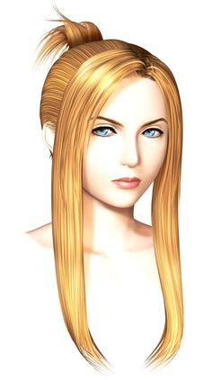 Quistis Trepe CG from Final Fantasy VIII