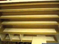 Foam Board Drawer Unit Tutorial...Process - YouTube