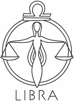 Zodiac - Libra UTH1332 The seventh sign in the zodiac. An air sign, the scales are the only symbol that is inanimate.