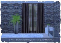 Set: Paris Curtains 2-Tile at Pixel Shrine