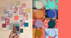 best=COLOR TRENDS 2020 starting from Pantone 2019 Living Coral matches She Bridal Pantone Colour Palettes, Pantone Color, Colour Schemes, Color Trends, Color Combinations, Design Trends, Design Ideas, Coral Color, Color Pop