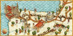 Mapa Antiguo del Camino