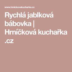 Rychlá jablková bábovka | Hrníčková kuchařka .cz