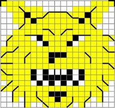 Tappara on terästä - tai vaikka villaa C2c Crochet, Fair Isle Pattern, Knitting Charts, Marimekko, Knitting Patterns, Cross Stitch, Logos, Minecraft, Crossword