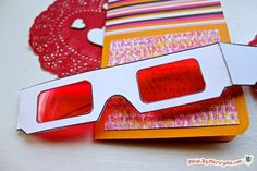 Make invites or Valentines super special with a secret message and decoder glasses. Free printables for 3 different messages. These cards are so unique & fun. Breakout Game, Breakout Edu, Breakout Boxes, Exit Games, Spy Games, Mystery Games, Escape Puzzle, Escape Room Puzzles, Escape Room Diy