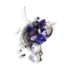 Tumblr ❤ liked on Polyvore featuring flowers, cluster, purple, decoration and filler
