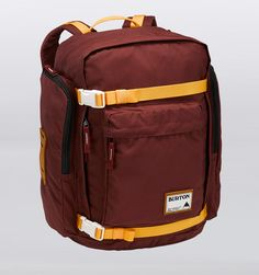 "Burton Canyon 17"" Laptop Backpack - Crimson - Rushfaster.com.au"