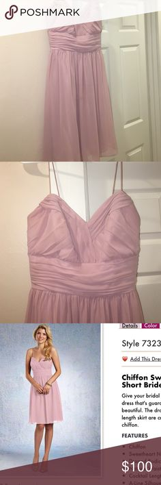 Alfred Angelo Dress Beautiful Alfred Angelo bridesmaid dress. Only used once. Can be used for prom, a special event, or for a fun night out. Perfect for the holidays. Alfred Angelo Dresses Prom