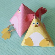 Créer et customiser des cocottes berlingots pour Pâques