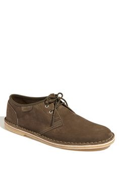 Clark 'Jink' Oxford. Soft, waxed suede.