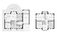 Grundrisse: Exklusive Stadtvilla 210KL von Arge-Haus