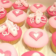 Cute idea for DITR ballet Birthday Cupcakes for my birthday?