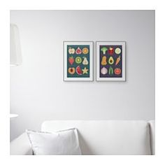 IKEA - TVILLING, Poster, set of 2, You can personalize your home with artwork that expresses your style.Motif created by Julia Trigg.