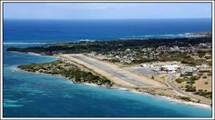 Photo: I know this photo of the #Nevis airport has been posted before, but it is so beautiful I just could not resist posting it again.